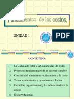 Unidad 01 - Fundamentos de los Costos