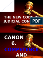 Canon 6- New Code of Judicial Ethics