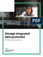 2016-08 - Storage Integrated Data Protection - HPE Recovery Manager Central - V5