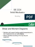 EE2224 - Solid Mechanics - Bending
