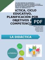Planificacion - Didactica