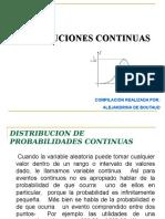 Distribuciones Continuas