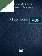 Meditaciones - Marco Aurelio Antonino Augusto