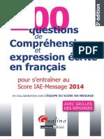 200 Questions de Compréhension Et Expression Ecrite en Francais-par-[-Www.heights-book.blogspot.com-]