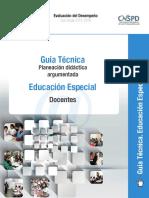 Guia Planeacion Docente Educ Especial