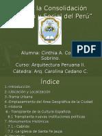 Exposicion Arquitectura Peruana II
