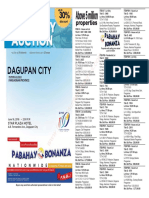 Pnb Foreclosed Properties in Dagupan Auction Flyer for 2016-06-16 Final