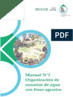 Manual N° 1 Organización de Usuarios