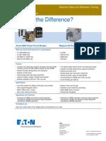 EATON - Comparación Insulated Circuit Breaker - Low VoltageCB