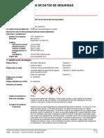 Plantilla MSDS de Alcohol Isopropilico