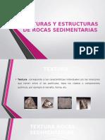 Texturas y Estructuras de Rocas Sedimentarias
