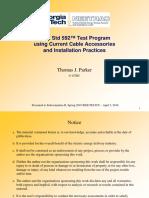 Pruebas de Empalmes y Accesorios de Cables-Sub-B_IEEE-592-Presentation-V3