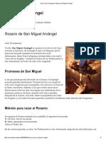 Rosario de San Miguel Arcángel _ San Miguel Arcángel