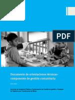 Orientaciones Técnicas Para El Desarrollo de La Actividad Acciones Incidencia NACIONAL