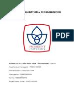 Reorganization Project - Mandiri & Garuda Indonesia