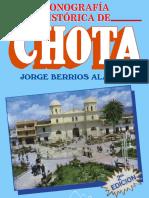 Monografía Histórica de Chota - Jorge Berríos Alarcón