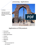 MM3340 Powder Processing Applications