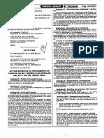 Ley Que Establece El Procedimiento Modifica Art. 440 441 y 444 Codigo Penal