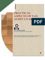 Tax Act Practical Audit