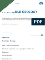 Profitable Geology NUS