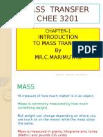 Mass Transfer Material
