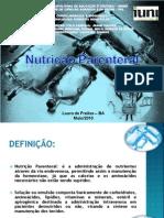 Slide Sobre Terapia Nutricional Parenteral