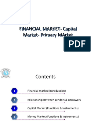 2  Financial Market- Capital Market- Primary MArket pdf
