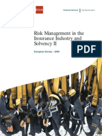 Risk Management in the Insurance Industry and Solvency II