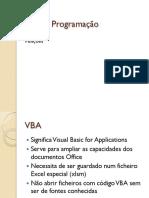 Excel - Programacao 2011