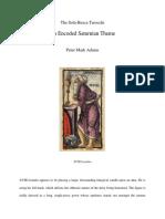 The Sola-Busca Tarocchi - XVIII Lentulo an Encoded Saturnian Theme by Peter Mark Adams.pdf