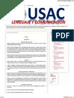 Lenguaje USAC