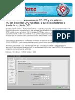 Simulación server OPC+clienteOPC_server_ABB