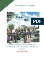EIS for Kafubu Mall