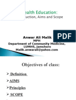 Health Education- Intro, Aims & Scope.ppt