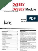 Arp Odyssey Manual