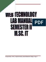 Webtech PG Labman