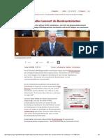 2016-10 Norbert Lammert for President