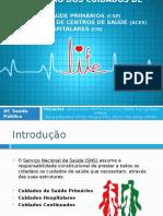 Organização Dos Cuidados de Saúde