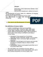 Detailed HSC Human Rights Notes