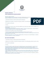 Italy Study Visa Checklist