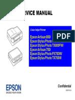 Epson C82 Service Manual | Printer (Computing) | Alternating