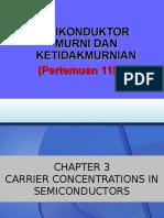 [11] Semikonduktor Murni Dan Ketakmurnian