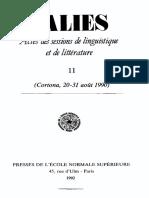 Pinault, Geoges-Jean Introduction Au Tokharien