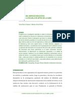 SERVQUAL Calidad Del Servicio Educativo Caso UABC. Ponencia