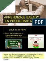 aprendizaje basado en problemas  abp