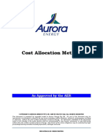 Aurora Cost Allocation Method