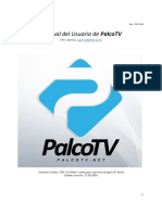 Manual Del Usuario de PalcoTV