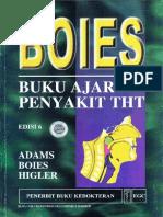 BOIES Buku Ajar Penyakit THT
