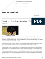 Trovicor the Black Panther of Surveillance Insider Surveillance En