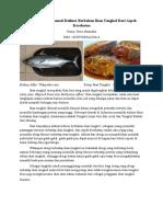 Pantangan Menikmati Kuliner Berbahan Ikan Tongkol Dari Aspek Kesehatan